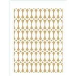 Stencil de Acetato para Pintura Opa 15x20 2347 Estamparia Corrente Ii