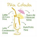 Stencil de Acetato para Pintura Opa Simples 30,5 X 30,5 Cm - 2197 Drink Piña Colada