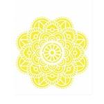 Stencil de Acetato para Pintura Opa Simples 20 X 25 Cm - 2463 Mandala Flor Vitral