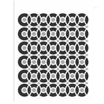 Stencil de Acetato para Pintura Opa Simples 15 X 20 Cm - 2440 Estamparia Discos