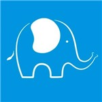Stencil Época Elefante 10x10 St-X04 - Litoarte