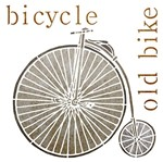 Stencil Litoarte 20x20 STXX-015 Bicycle Old