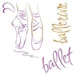Stencil Litoarte 20x20 STXX-018 Sapatilhas de Ballet