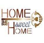 Stencil Litoarte 20x20 STXX-046 Home Sweet Home