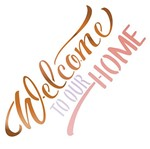 Stencil Litoarte 20x20 STXX-047 Welcome To Our Home