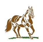 Stencil Litoarte 21,1x17,2 STM-175 Cavalo