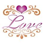 Stencil Litoarte 21,1x17,2 STM-436 Love Arabescos