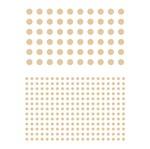 Stencil Litoarte 21,1x17,2 STM-325 Círculos