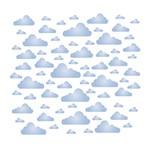 Stencil Litoarte 21,1x17,2 STM-562 Estampa Nuvens
