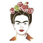 Stencil Litoarte 21,1x17,2 STM-572 Frida