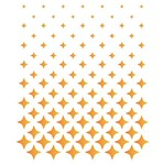 Stencil Litoarte 21,1x17,2 STM-612 Estampa Degradê Estrelas