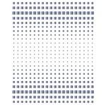 Stencil Litoarte 21,1x17,2 STM-610 Estampa Degradê Quadrados