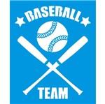 Stencil Litoarte 21,1x17,2 STM-687 Emblema Basebol