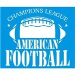 Stencil Litoarte 21,1x17,2 STM-688 Emblema Futebol Americano