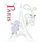 Stencil Litoarte 21,1x17,2 STM-233 Torre Eiffel Paris