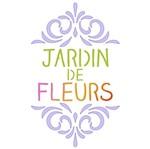 Stencil Litoarte 10x10 STX-320 Selo Jardin de Fleurs