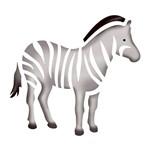 Stencil Litoarte 10x10 STX-017 Zebra