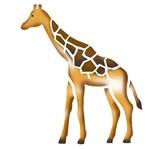 Stencil Litoarte 10x10 STX-019 Girafa