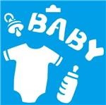 Stencil Litoarte 10x10 STX-060 Baby