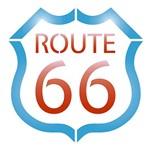 Stencil Litoarte 10x10 STX-253 Route 66