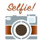 Stencil Litoarte 10x10 STX-264 Câmera Selfie