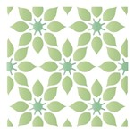 Stencil Litoarte 10x10 STX-371 Azulejo Estampa Flores
