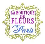 Stencil Litoarte 10x10 STX-328 Selo Fleur Paris
