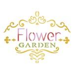 Stencil Litoarte 10x10 STX-322 Selo Flower Garden