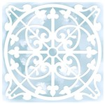 Stencil Litoarte 14x14 STA-019 Azulejo Canadá