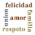 Stencil Litoarte 14x14 STA-056 Felicidade Amor