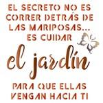 Stencil Litoarte 14x14 STA-080 El Jardim