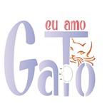Stencil Litoarte 14x14 STA-120 eu Amo Gato