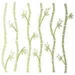 Stencil Litoarte 14x14 STA-118 Bambus