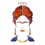 Stencil Litoarte 34,4x21 ST-195 Frida
