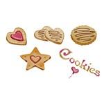 Stencil Litoarte 34,4x21 ST-258 Cookies