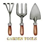 Stencil Litoarte 34,4x21 ST-281 Garden Tools