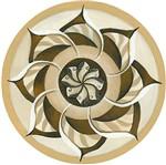 Stencil Litoarte 34,4x21 ST-286 Mandala Flor