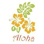 Stencil Litoarte 34,4x21 ST-233 Hibisco e Aloha