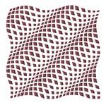 Stencil Litoarte 42,2x32 STW-031 Estampa Abstrata