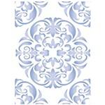 Stencil Litoarte 42,2x32 STW-027 Ornamento Mandala