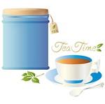 Stencil Litoarte 42x17 STG-073 Hora do Chá