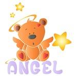 Stencil Litoarte 25x20 STR-110 Ursinho Angel