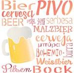 Stencil Litoarte 25x20 STR-126 Cerveja Bier