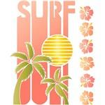 Stencil Litoarte 25x20 STR-128 Surf Palmeiras