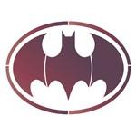Stencil Litoarte 25x25 STXXV-046 Super Herói Morcego