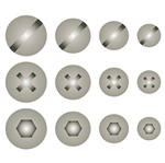 Stencil Litoarte 8,4x28,5 STE-328 Cabeça de Parafuso