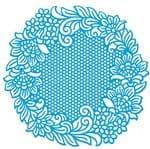 Stencil Litoarte Lili Negrão 20 X 20 Cm - STXX1-001 Flores Guipir