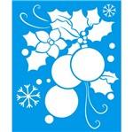 Stencil Litoarte Natal 17,2x21,1 STMN-010 Enfeite Natalino