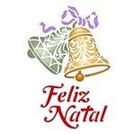 Stencil Litoarte Natal 17,2x21,1 STMN-062 Sino e Feliz Natal