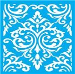 Stencil Litocart 30x30 LSPG-010 Azulejo Floral